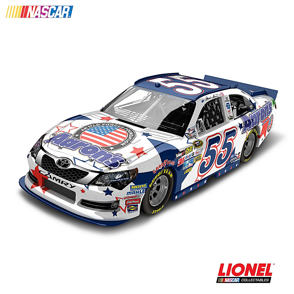 The Hamilton Collection NASCAR Mark Martin No. 55 Aaron's NASCAR UNITES 2012 Diecast Car at Sears.com