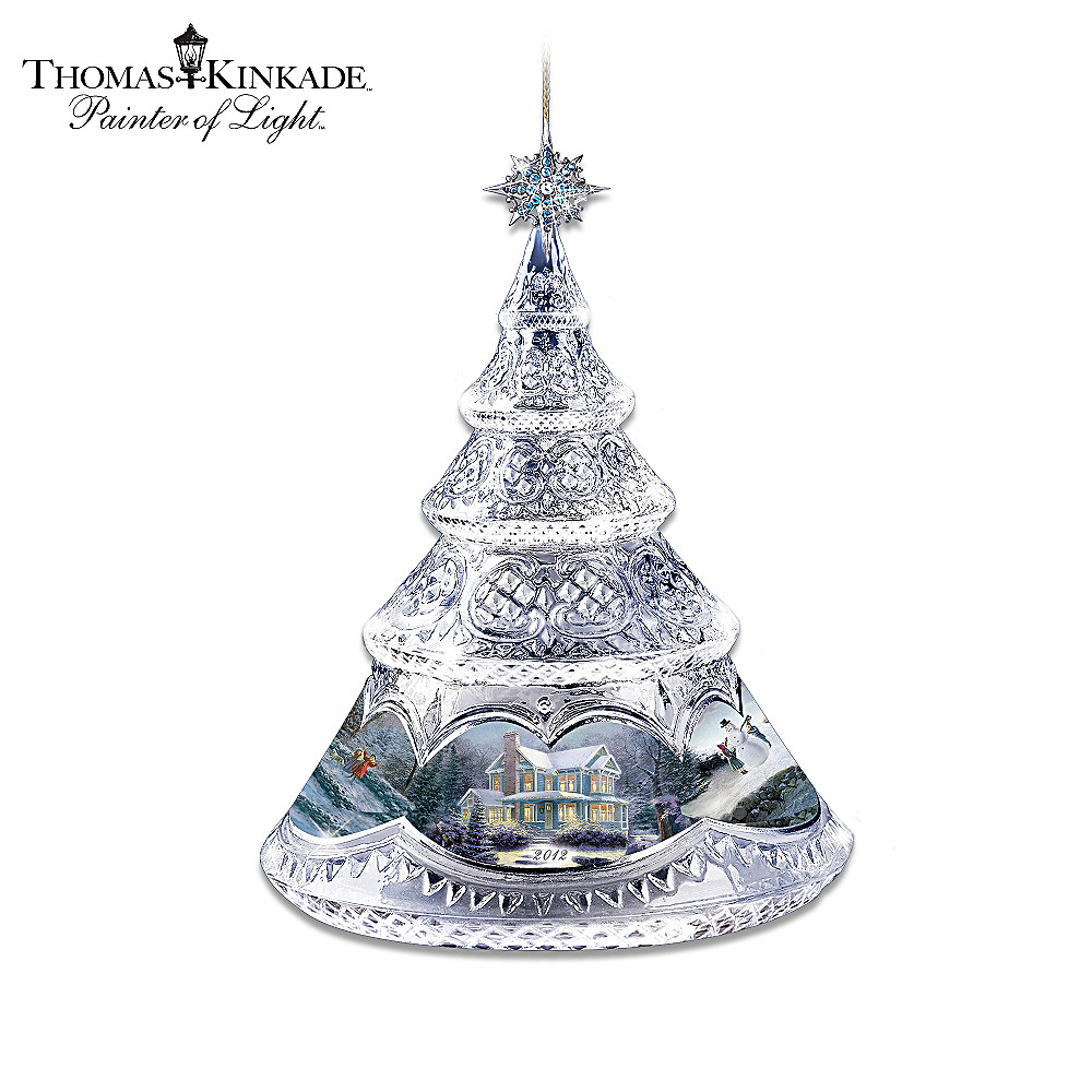 The Bradford Editions Thomas Kinkade Shining Joy Christmas Ornament at Sears.com