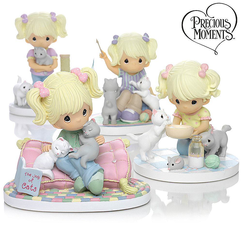 "The Hamilton Collection Precious Moments ""Paw Prints On My Heart"" Figurine Collection at Sears.com"