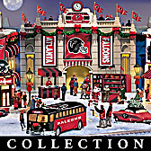 Atlanta Falcons Christmas Village Collection