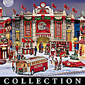 Tampa Bay Buccaneers Christmas Village Collection