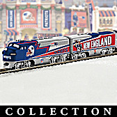 New England Patriots Express Train Collection