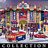 New York Giants Christmas Village Collection