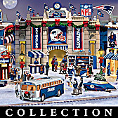 New England Patriots Christmas Village Collection