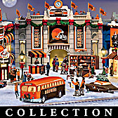 Cleveland Browns Christmas Village Collection