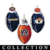 Auburn Tigers FootBells Ornament Collection