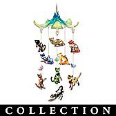 Fabulous Felines Hanging Sculpture Collection
