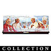 Pope Saint John Paul II Collector Plate Collection