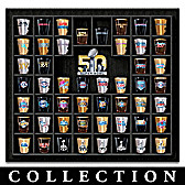 Super Bowl Shot Glass Collection