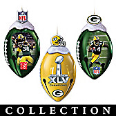 Green Bay Packers FootBells Ornament Collection