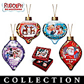 Rudolph The Red-Nosed Reindeer Ornament Collection