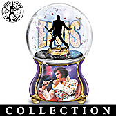 Elvis: Burning Love Glitter Globe Collection