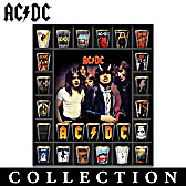 AC/DC Album Covers Shot Glass Collection