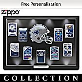 Dallas Cowboys Personalized Zippo® Lighter Collection
