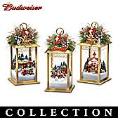Budweiser Holiday Cheers Table Centerpiece Collection