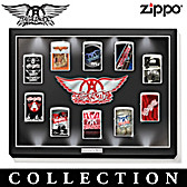 Aerosmith: Legends Of Rock Zippo® Lighter Collection