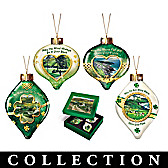 The Spirit Of Emerald Isle Ornament Collection