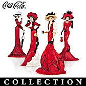 Elegance Of Coca-Cola Figurine Collection