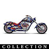 United We Stand Bike Figurine Collection