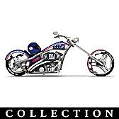 New York Giants Motorcycle Figurine Collection