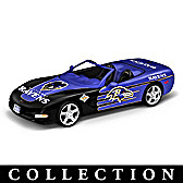 Heartbeat Of The Baltimore Ravens Car Sculpture Collection