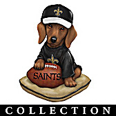 Ruff And Tough New Orleans Saints Figurine Collection