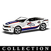 Heartbeat Of The Denver Broncos Car Sculpture Collection