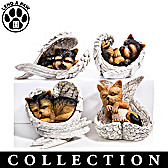Paw Prints From Heaven Yorkie Figurine Collection