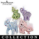 Thomas Kinkade Crystal Elegance Figurine Collection