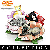 Blossoming Expressions Of Purr-fection Figurine Collection