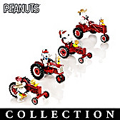 Snoopy's Fun On The Farm With Farmall Figurine Collection