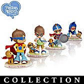 Precious Moments Grandsons Are SUPER Figurine Collection