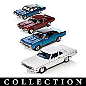 50 Years Of Chevy Power Diecast Car Collection