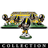 NFL Heroes Of The Pittsburgh Steelers Figurine Collection
