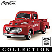 COCA-COLA Vintage Refreshment Truck Sculpture Collection