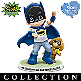 Precious Moments And BATMAN: A Grandson Figurine Collection