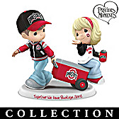 Precious Moments Buckeye Pride Figurine Collection
