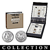 Morgan Silver Dollars Of The Wild West Coin Collection