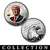 The 45th U.S. President Silver Proof Coin Collection