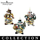Thomas Kinkade Memories of Christmas Ornament Collection
