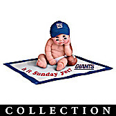 New York Giants #1 Fan Baby Doll Collection