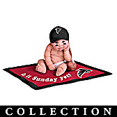 Atlanta Falcons #1 Fan Commemorative Baby Doll Collection