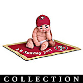 San Francisco 49ers #1 Fan Baby Doll Collection