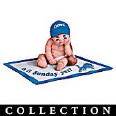 Detroit Lions #1 Fan Commemorative Baby Doll Collection
