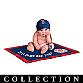 Boston Red Sox #1 Fan Commemorative Baby Doll Collection