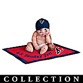 Houston Texans #1 Fan Baby Doll Collection