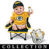 Green Bay Packers Tailgatin' Tots Baby Doll Collection