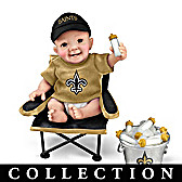 New Orleans Saints Tailgatin' Tots Baby Doll Collection