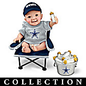 Dallas Cowboys Tailgatin' Tots Baby Doll Collection