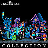 Nightmare Before Christmas Black Light Village Collection